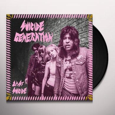 Suicide Generation LAST SUICIDE Vinyl Record