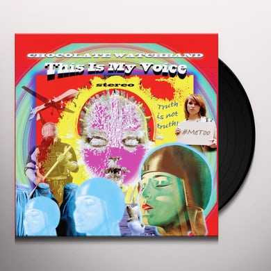 The Chocolate Watchband THIS IS MY VOICE Vinyl Record