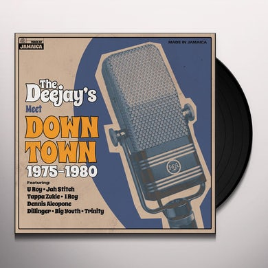 DEEJAYS MEET DOWN TOWN 1975-1980 / VARIOUS Vinyl Record