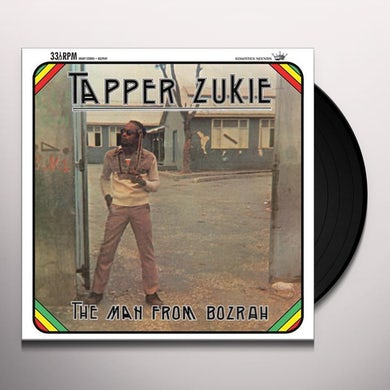 Tapper Zukie MAN FROM THE BOZRAH Vinyl Record