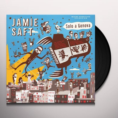 Jamie Saft SOLO A GENOVA Vinyl Record