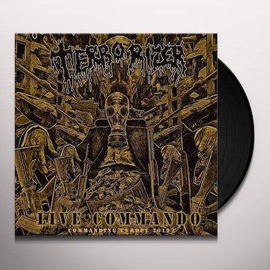 Terrorizer LIVE COMMANDO Vinyl Record