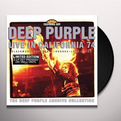 Deep Purple CAL JAM - LIVE IN CALIFORNIA 74 Vinyl Record