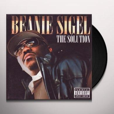 Beanie Sigel SOLUTION Vinyl Record