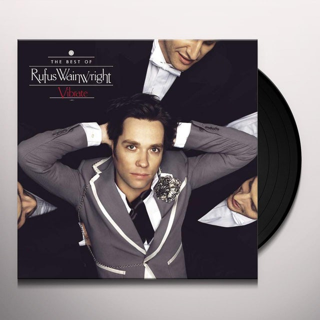 Rufus Wainwright VIBRATE: BEST OF Vinyl Record