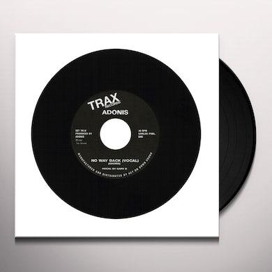 Adonis NO WAY BACK Vinyl Record