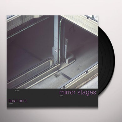 floral print MIRROR STAGES Vinyl Record