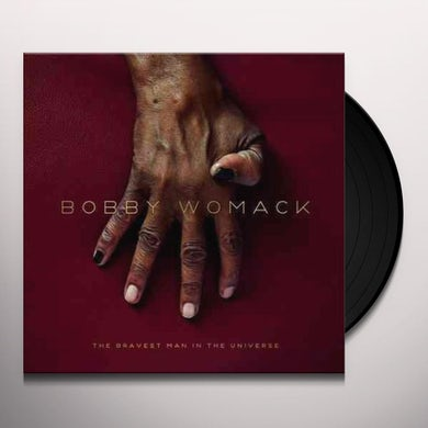 Bobby Womack BRAVEST MAN IN THE UNIVERSE Vinyl Record
