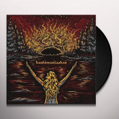 Kuolemanlaakso MUSTA AURINKO NOUSEE EP Vinyl Record