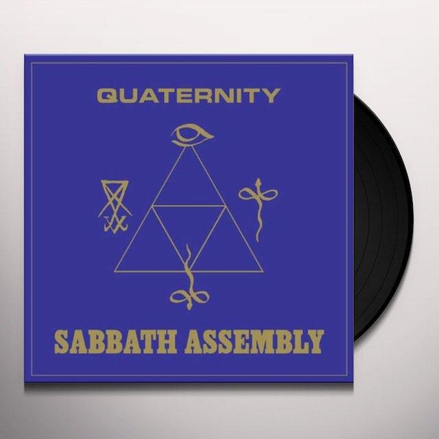 Sabbath Assembly QUATERNITY (LTD GOLD) Vinyl Record - UK Release