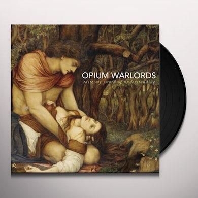 Opium Warlords TASTE MY SWORD OF UNDERSTANDING GOLD VINYL Vinyl Record
