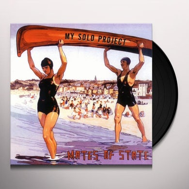 Mates Of State MY SOLO PROJECT Vinyl Record