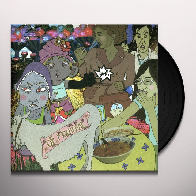 Of Montreal ID ENGAGER / ALTER EAGLE Vinyl Record