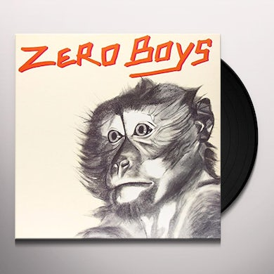 Zero Boys MONKEY Vinyl Record