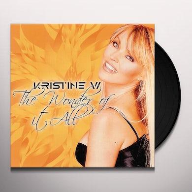 Kristine W WONDER OF IT ALL REMIXES (X3) Vinyl Record