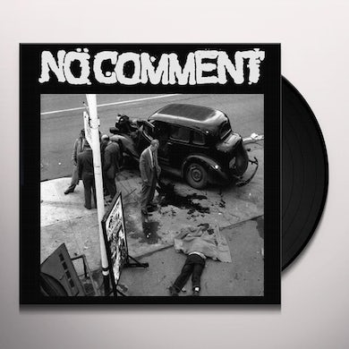 No Comment LIVE ON KXLU 1992 Vinyl Record