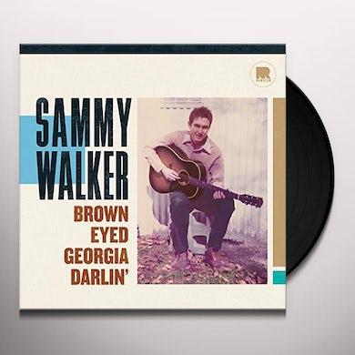 Sammy Walker BROWN EYED GEORGIA DARLIN Vinyl Record