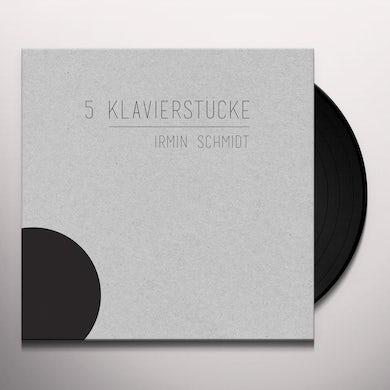 Irmin Schmidt 5 KLAVIERSTUCKE Vinyl Record