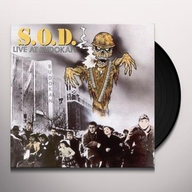 S.O.D. LIVE AT BUDOKAN Vinyl Record - UK Release