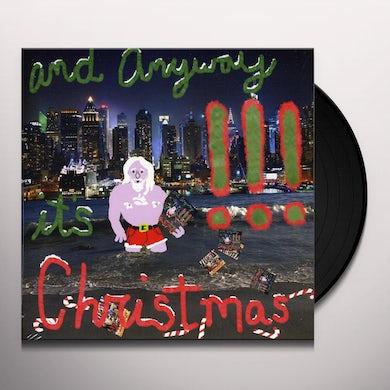 !!! & ANYWAY IT'S CHRISTMAS Vinyl Record
