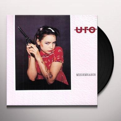 Ufo MISDEMEANOR Vinyl Record