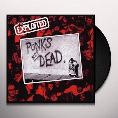 The Exploited PUNKS NOT DEAD Vinyl Record