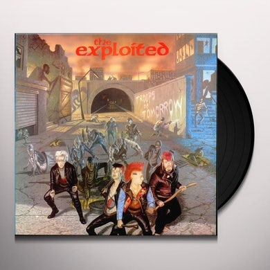 The Exploited TROOPS OF TOMORROW Vinyl Record