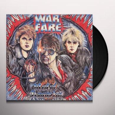 Warfare METAL ANARCHY Vinyl Record
