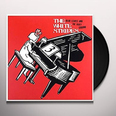 The White Stripes DEAD LEAVES & THE DIRTY GROUND / STOP BREAKING Vinyl Record