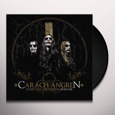 Carach Angren WHERE THE CORPSES SINK FOREVER Vinyl Record