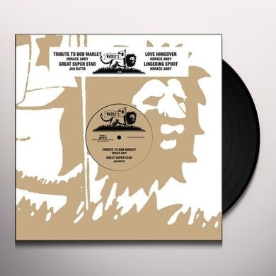 Horace Andy TRIBUTE TO BOB MARLEY Vinyl Record