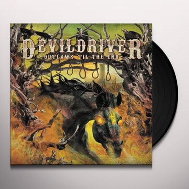 Devildriver OUTLAWS 'TIL THE END 1 Vinyl Record