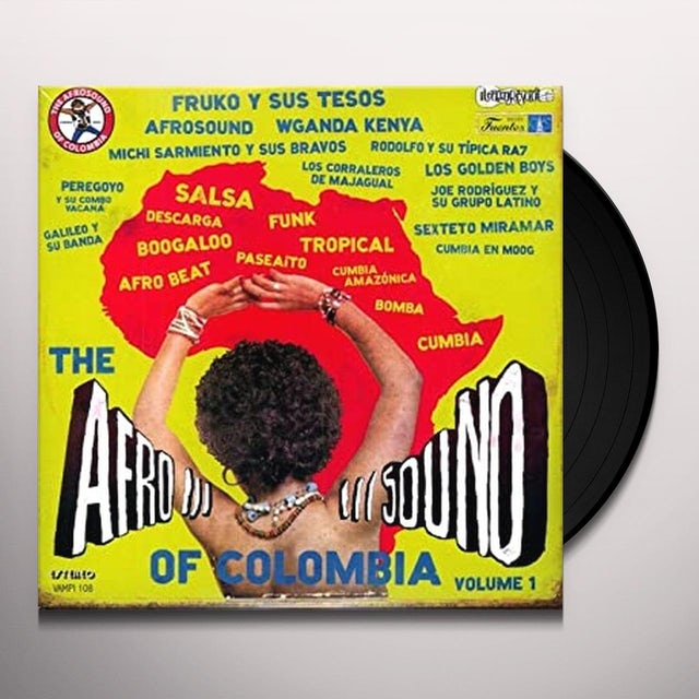 Afrosound Of Colombia 1 / Various