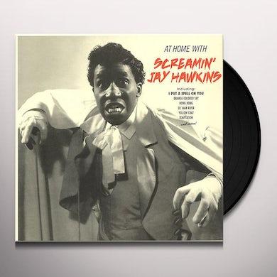 Screamin Jay Hawkins AT HOME WITH + 4 BONUS TRACKS (BONUS TRACKS) Vinyl Record - Spain Release