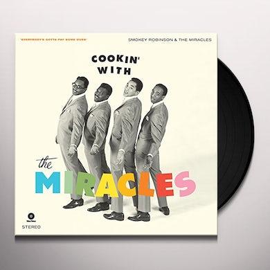 Smokey Robinson & The Miracles COOKIN WITH + 4 BONUS TRACKS (BONUS TRACKS) Vinyl Record - 180 Gram Pressing
