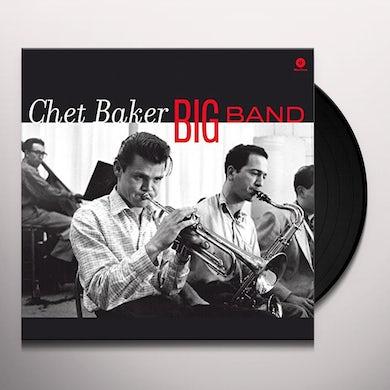 Chet Baker BIG BAND Vinyl Record - 180 Gram Pressing, Spain Release