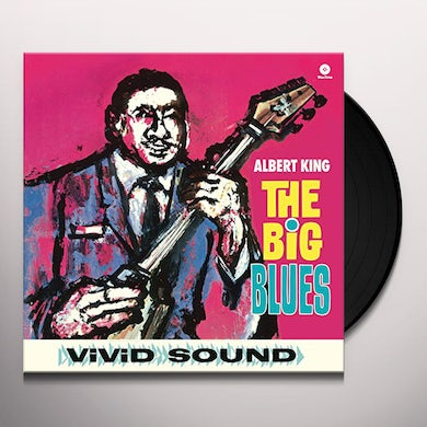 Albert King BIG BLUES + 2 BONUS TRACKS (BONUS TRACKS) Vinyl Record - 180 Gram Pressing