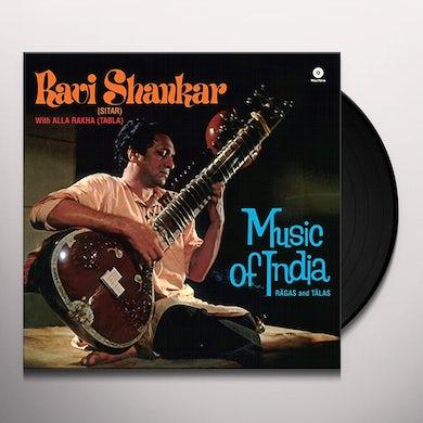 Ravi Shankar RAGAS & TALAS Vinyl Record - 180 Gram Pressing, Spain Release