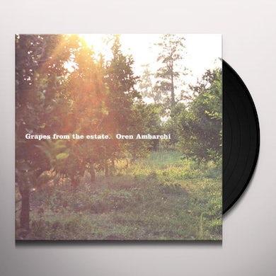 Oren Ambarchi GRAPES FROM THE ESTATE Vinyl Record