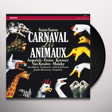 Saint-Saens CARNAVAL DES ANIMAUX Vinyl Record