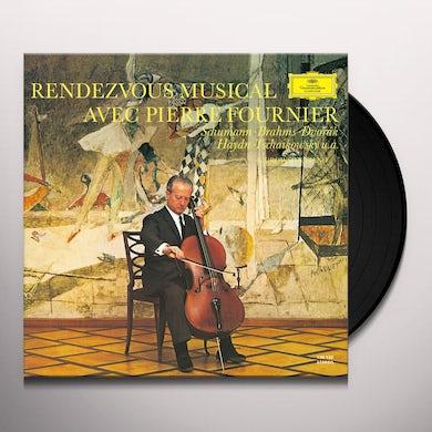 Pierre Fournier RENDEZVOUS MUSICAL Vinyl Record