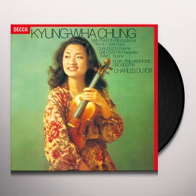 Chung Kyung-Wha SAINT-SAENS CHAUSSON RAVEL Vinyl Record