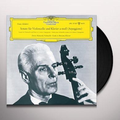 Schubert / Enrico Mainardi SCHUBERT: ARPEGGIONE SONATA IN A MINOR Vinyl Record