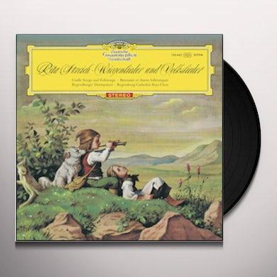 Rita Streich CRADLE SONGS & FOLKSONGS Vinyl Record