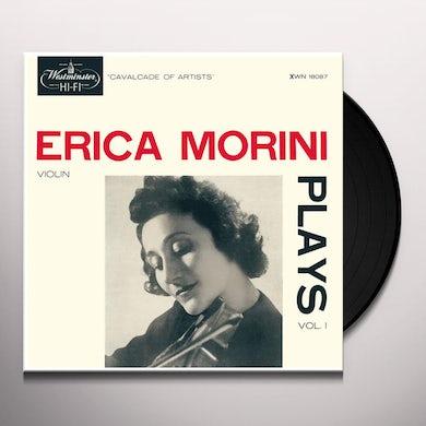 ERICA MORINI PLAYS VOL. 1  (180G) Vinyl Record