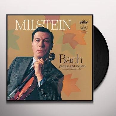 Nathan Milstein BACH PARTITAS & SONATAS FOR UNACCOMPANIED VIOLIN Vinyl Record