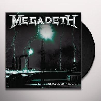 Megadeth UNPLUGGED IN BOSTON Vinyl Record