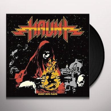 Haunt BURST INTO FLAMES Vinyl Record