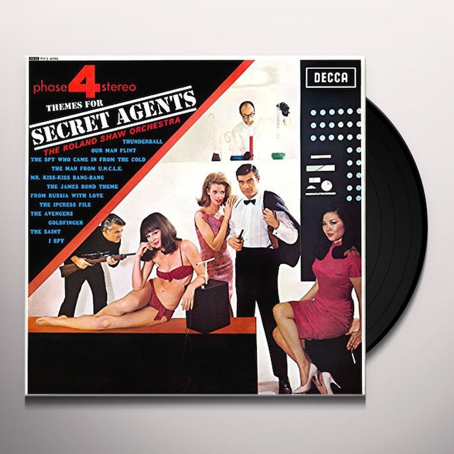 Roland Shaw & His Orchestra THEMES FOR SECRET AGENTS Vinyl Record