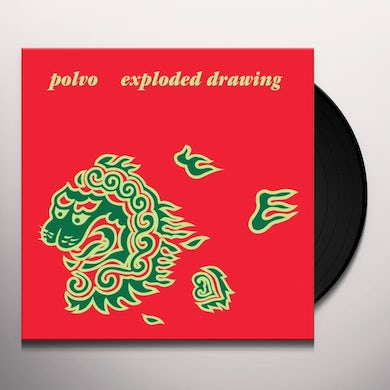 Polvo EXPLODED DRAWING Vinyl Record